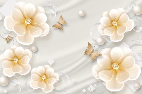 پوستر دیواری گل هلندی
